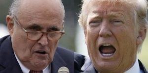 Giuliani and Trump